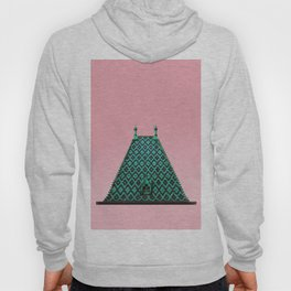 magic roof in Budapest (green) Hoody