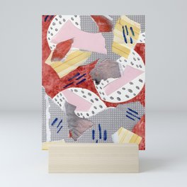 Paper Jumble Mini Art Print