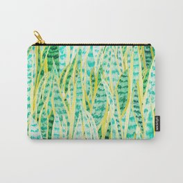 green snake plant pattern Carry-All Pouch