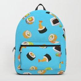 Sushi Pattern Backpack