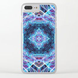 Mirror Cube Clear iPhone Case