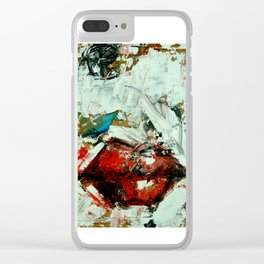 Texturas Clear iPhone Case
