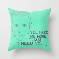 Breaking Bad - Faces - Jesse Pinkman Throw Pillow