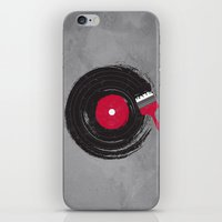 music iPhone & iPod Skins featuring Art of Music by dan elijah g. fajardo