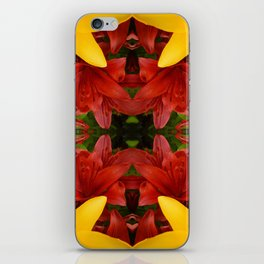"""""""A Gathering of Lilies"""" Remix - 4 (2-1) [D4469~57] iPhone Skin"""