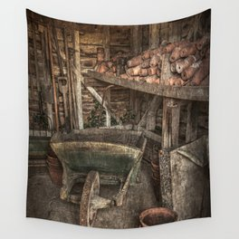 The Garden Shed Wall Tapestry