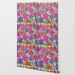 Colorful Spring Floral Garden Wallpaper