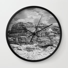 Mountain We Rise Wall Clock