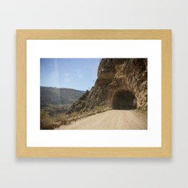 Life is a Highway Framed Art Print