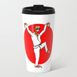 Sloth Karate Travel Mug