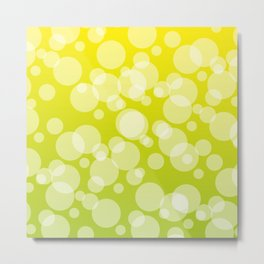 Yellow sunlight abstract background #society6 #decor #buyart #artprint Metal Print