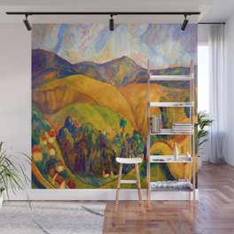 Diego Rivera Landscape Wall Mural