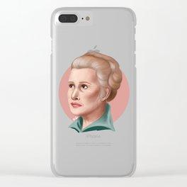 General Organa Clear iPhone Case