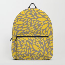 Yellow Flower explosion Backpack