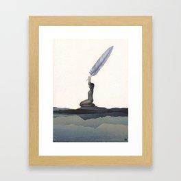 Prana (the cosmic energy) Framed Art Print