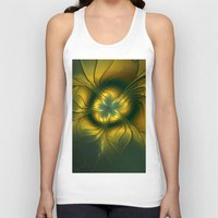golden Tank Tops featuring Golden by gabiw Art
