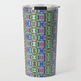 Designer Red Green Blues Travel Mug
