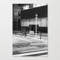 minimalist Canvas Prints featuring Minimalist by Jesuistigerlily