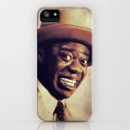 Louis Armstrong, Music Legend iPhone Case