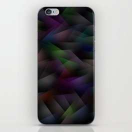 Abstract Geometric Shapes 1 iPhone Skin