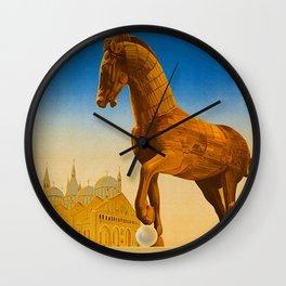 Vintage Padova or Padua Italy Travel Wall Clock