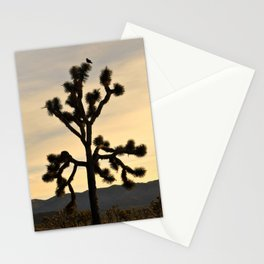 JOSHUA TREE - NATIONAL PARK - MOJAVE DESERT SUNSET - CALIFORNIA Stationery Cards