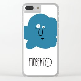 FILBERTO Clear iPhone Case