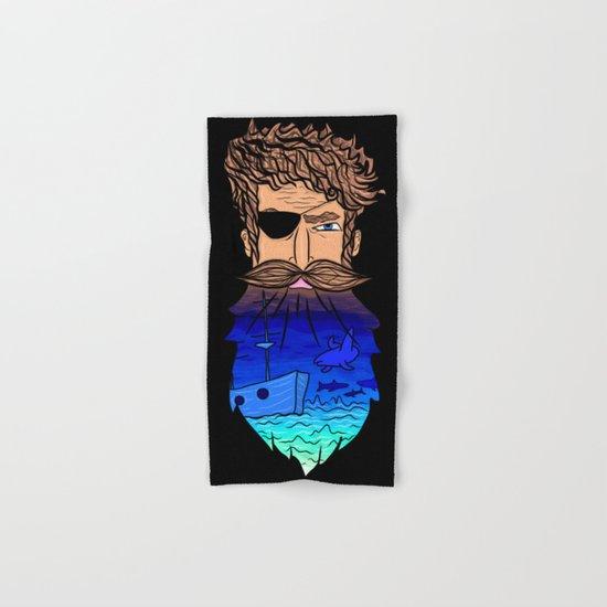 If This Beard Could Talk, Hair Series Hand & Bath Towel