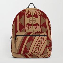 Bear Spirit (Maroon) Backpack