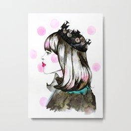 Fashion princess Metal Print