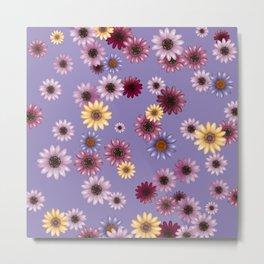 Multicolored natural flowers 9 Metal Print