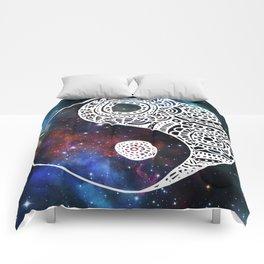 Galaxy Yin Yang Comforters