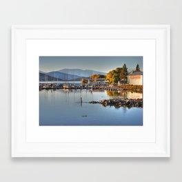 Pelican Marina Framed Art Print