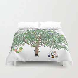 BB&PPINC Tree Print Duvet Cover