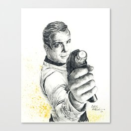 Star Trek: Capt. James T. Kirk Canvas Print