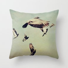She Spread Her Wings and Began to Fly Throw Pillow