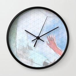 too close Wall Clock