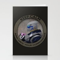 garrus Stationery Cards featuring Garrus by Fyrielle