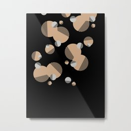 Christmas Decoration #geometric #design #society6 Metal Print