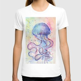 Jellyfish Watercolor T-shirt