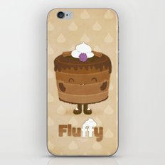 Fluffy Chocolate Mousse Cake iPhone Skin