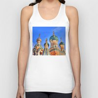 russia Tank Tops featuring Basilica in Russia  by Limitless Design