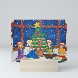 The Frighteningly Festive X-Mas Tree Mini Art Print
