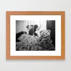 a childhood dream Framed Art Print