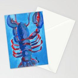 Lobster NY1B, 6 Stationery Cards