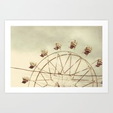 on a summer day Art Print