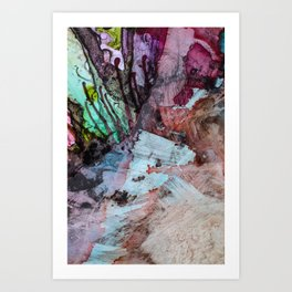 Abstract Background 304 Art Print
