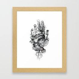 Dead Hand Framed Art Print