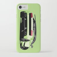 lamborghini iPhone & iPod Cases featuring LAMBORGHINI GALLARDO by MATT WARING