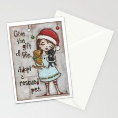 The Gift of Life - by stuDIo DUDA art Stationery Cards